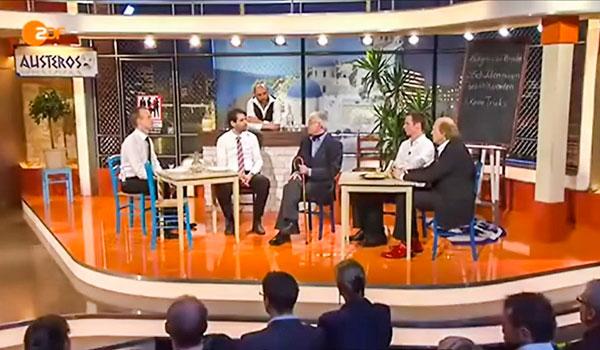 Η Τρόικα Στην Ελλάδα (31/3/2015, Die Anstalt, ZDF)