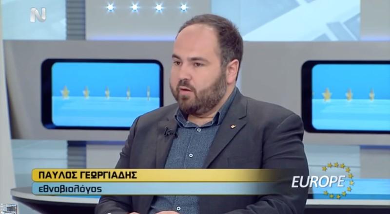 Ο Παύλος Γεωργιάδης μιλά για την Ευρωπαϊκή Κρίση και το πακέτο Γιούνκερ (ΝΕΡΙΤ, 25/4/2015)