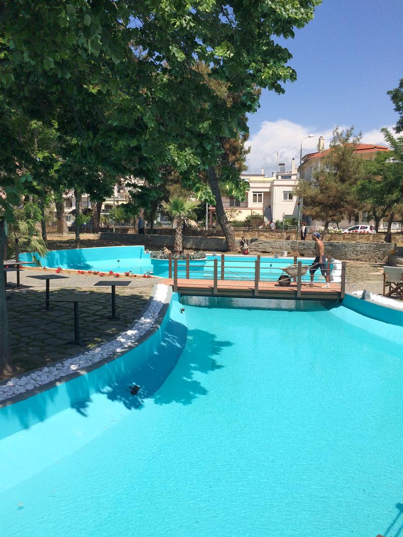 Προετοιμασίες αναψυκτηρίου Πάρκου Προσκόπων (26/05/2015)