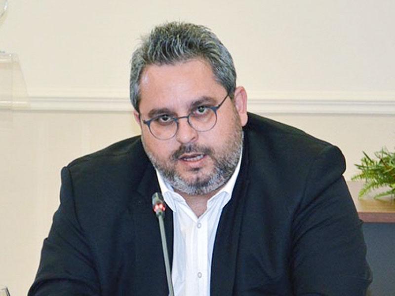 Σταύρος Σταυράκογλου, πρόεδρος και διευθύνων σύμβουλος του ΟΛΑ και πρόεδρος της ΝΟΔΕ Έβρου