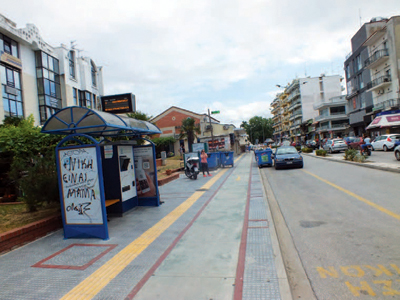Πρόταση διενέργειας αρχιτεκτονικού διαγωνισμού ιδεών για την αναβάθμιση της όψης των κτιρίων στην οδό Ορφέως στην Κομοτηνή (Εφημερίδα Ο Χρόνος, 19/06/2015)