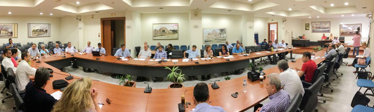 Δημοτικό Συμβούλιο Τετάρτης 24/6/2015