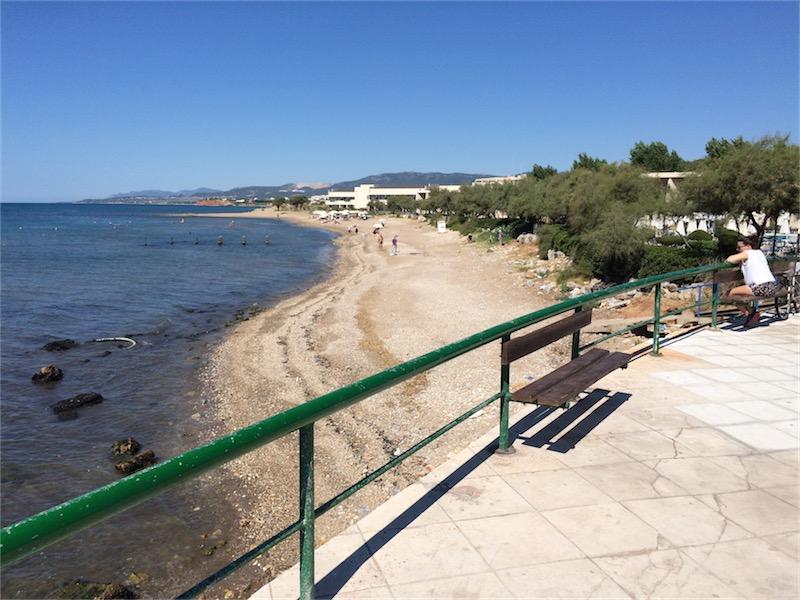 Παραλία στροφής Εγνατία (1/9/2015 11:41)