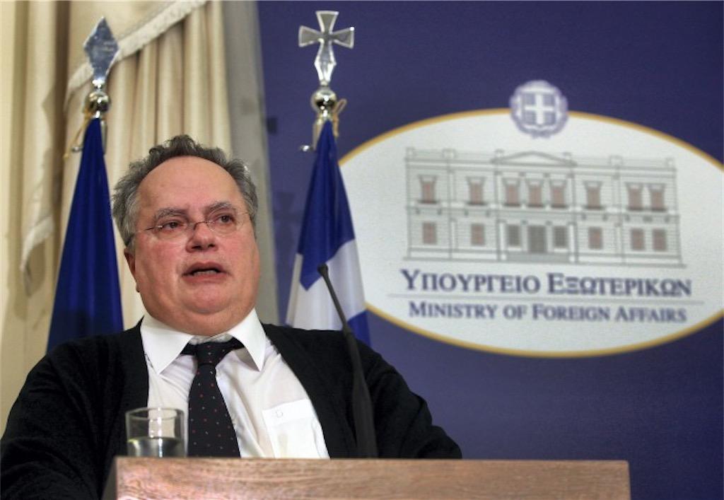 """Ο κ. Νίκος Κοτζιάς, πρόεδρος της Κίνησης Ιδεών & Δράσης """"ΠΡΑΤΤΩ"""" και υπουργός εξωτερικών"""