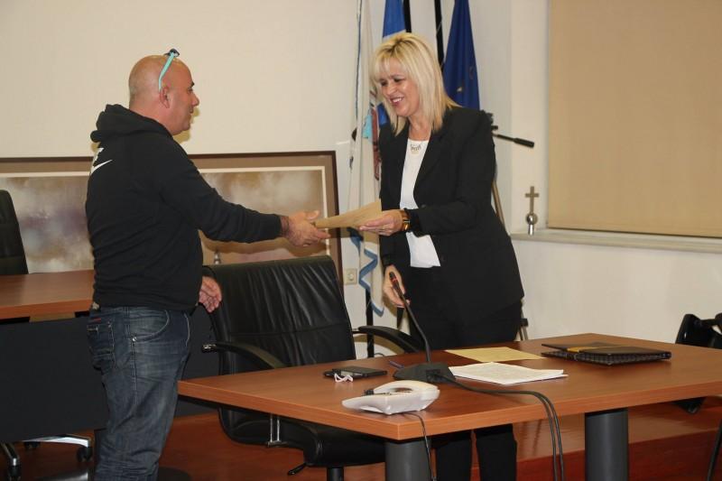 Υπογραφή Συμφώνου Συνεργασίας Δημοτικής Κοινότητας Αλεξανδρούπολης και Συλλόγου Επαγγελματιών και Βιοτεχνών Σαμοθράκης (25/11/2015)