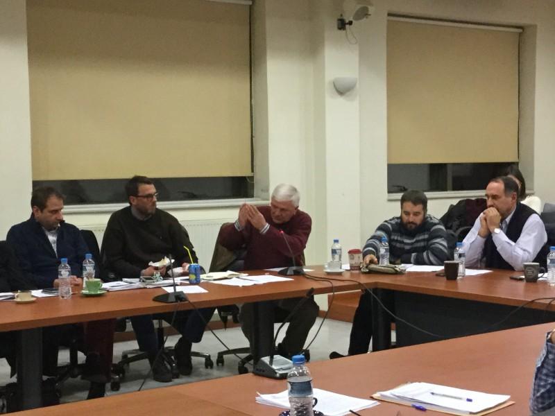 Ο κ. Επαμεινώνδας Τερζής μιλά για το θέμα ΤΙΕΔΑ-Ρακιτζή και τις διαχρονικές αμοιβές των διοικήσεων ΔΗΤΕΑ & ΤΙΕΔΑ στην 30η τακτική συνεδρίαση ΔΣ δήμου Αλεξανδρούπολης (18/12/2015 19:18)