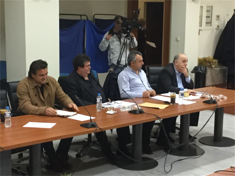 """Παράταξη """"Δήμος & Δημότες"""", 1ο τακτικό ΔΣ Αλεξανδρούπολης του 2016 (8/1/2016 18:42)"""
