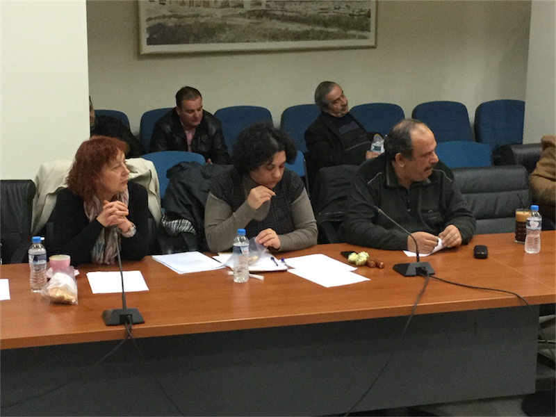 """Παράταξη """"Λαϊκή Συσπείρωση"""", 1ο τακτικό ΔΣ Αλεξανδρούπολης του 2016 (8/1/2016 18:42)"""