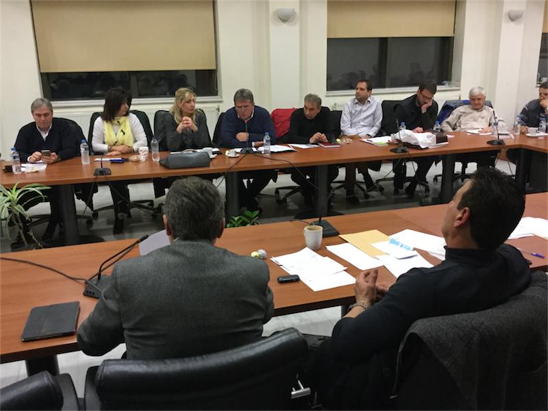 Ο κ. Ευάγγελος Μυτιληνός, πρόεδρος της ΔΕΥΑΑ, εισηγείται το θέμα της τιμολογιακής πολιτικής 2016 του νομικού προσώπου του δήμου, 1ο τακτικό ΔΣ Αλεξανδρούπολης του 2016 (8/1/2016 19:17)