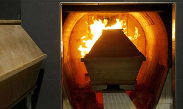 Κέντρα Αποτέφρωσης Νεκρών και Οστών Νεκρών (πηγή φωτό: The Guardian/ Action Press / Rex Features)