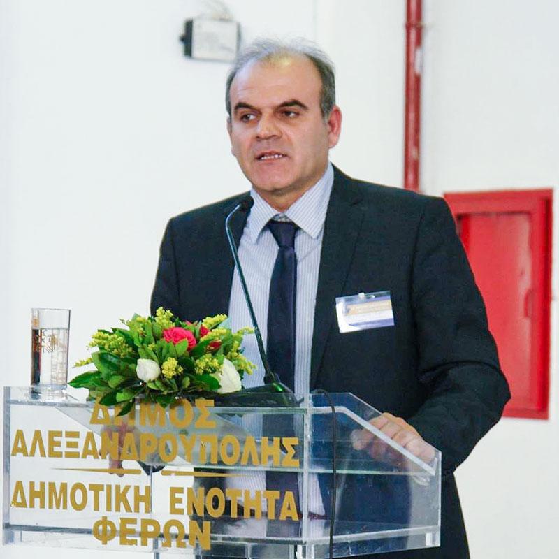 Νίκος Γκότσης, αντιδήμαρχος Φερών και Πρωτογενούς Τομέα Δήμου Αλεξανδρούπολης