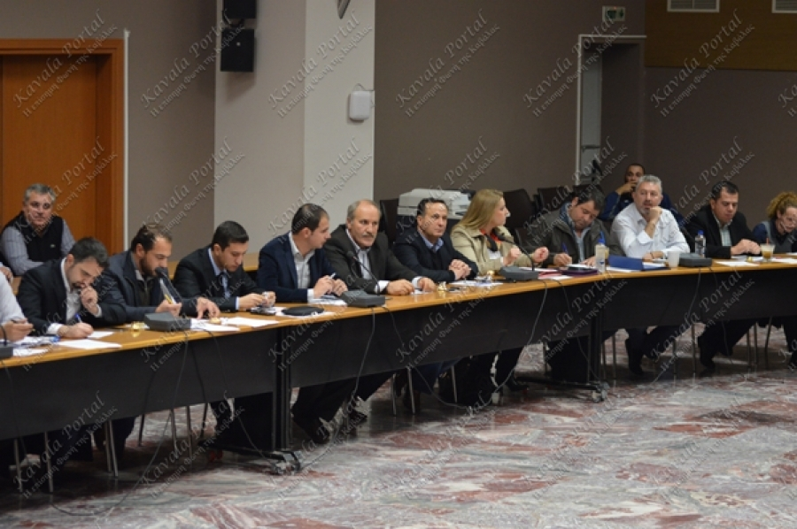 Απολογισμός Περιφερειάρχη και Εκτελεστικής Επιτροπής 2015 (άρθρο 185, Ν.3852/2010) (Συνεδρίαση 16/2/2016, φωτό: kavala-portal.gr)
