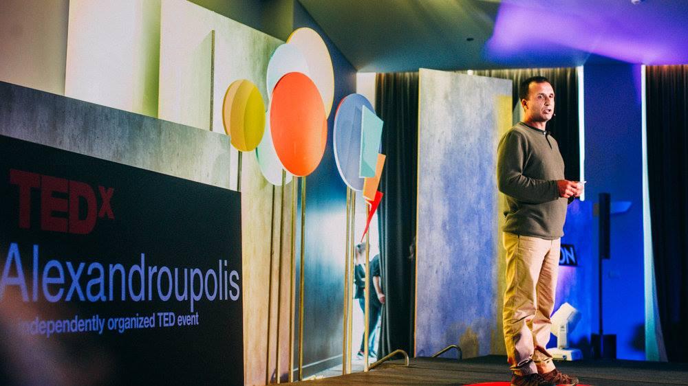 Άκης Τεμπερίδης (TEDx Alexandroupolis, 13/2/2016)