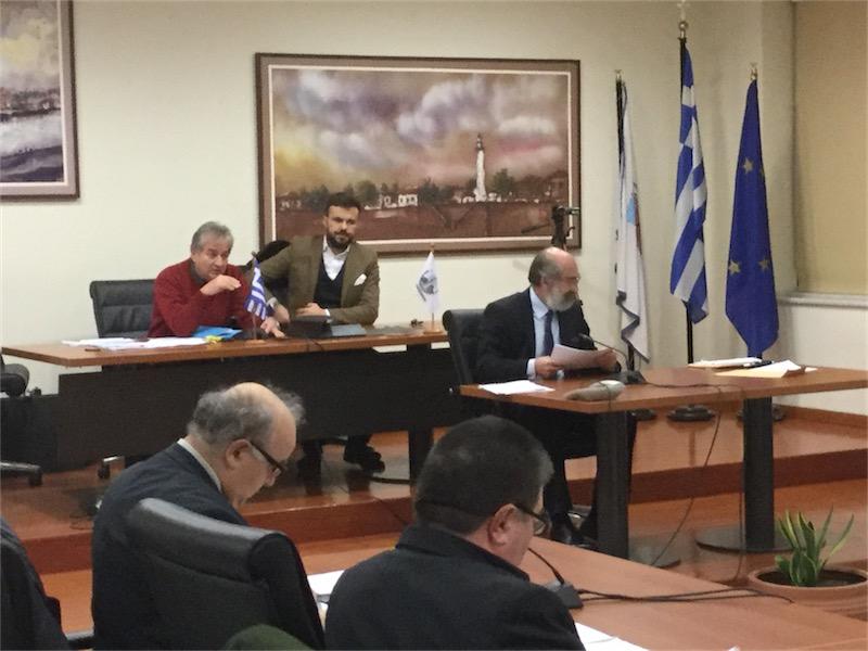 Προεδρεύει ο αντιπρόεδρος του Δ.Σ. κ. Ταρτανής (2ο τακτικό δημοτικό συμβούλιο της 10/2/2016, 18:04)