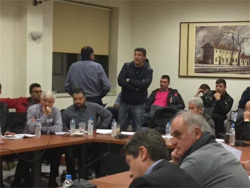 Ο κ. Μερκούρης, νόμιμος εκπρόσωπος του Αθλητικού Ομίλου Θράκης, στο ΔΣ της 10/2/2016 (19:58)
